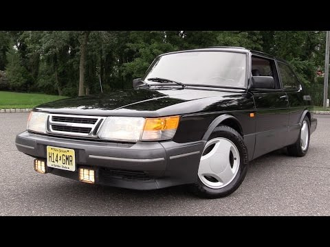1988 Saab 900 Turbo SPG - Start Up, Road Test & In Depth Review