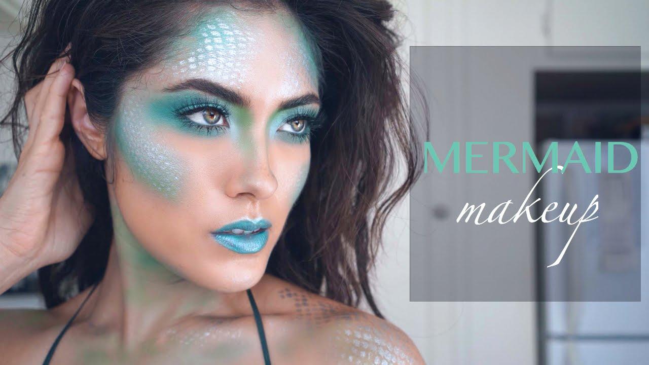 Mermaid Makeup Tutorial Ft. NYX Avant Pop Palette