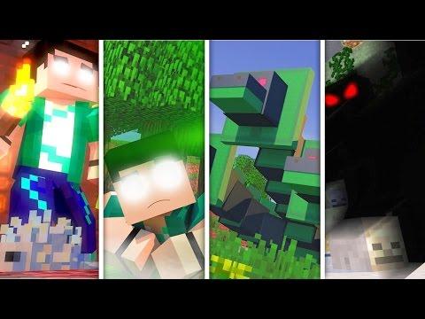 Minecraft - PARAÍSO - REZENDEEVIL VS HEROBRINE!! MELHORES MOMENTOS!