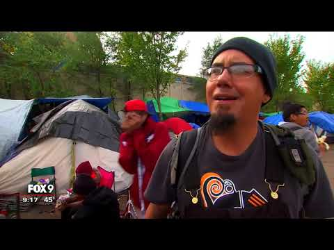 A death in Minneapolis' tent city