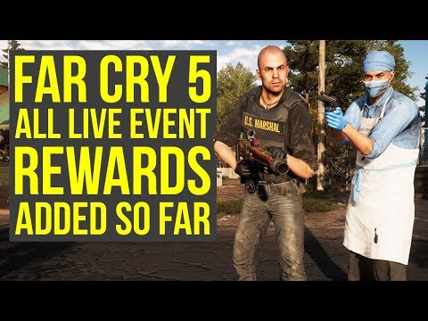 Far Cry 5 Live Event - ALL NEW WEAPONS & OUTFITS Added Since Launch (Far Cry 5 Live Events) thumbnail