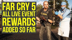 Far Cry 5 Live Event - ALL NEW WEAPONS & OUTFITS Added Since Launch (Far Cry 5 Live Events)