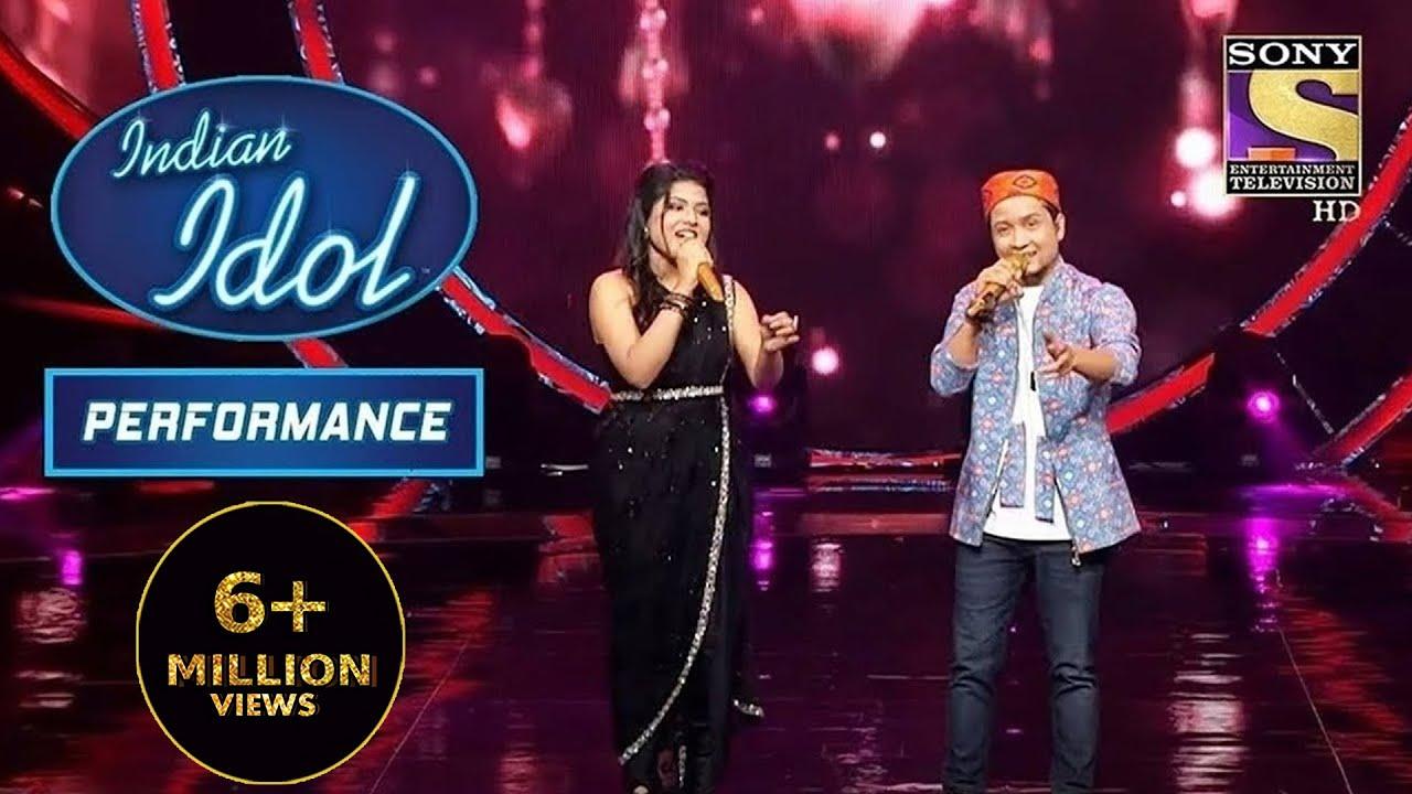 Download Arunita और Pawandeep की जोड़ी ने पेश किया 'Tere Sang Pyar Main' पर Performance|Indian Idol Season 12