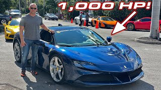 First 1,000 HP Ferrari on US Streets & $17M HOUSE * My first drive in the Ferrari SF90 Stradale