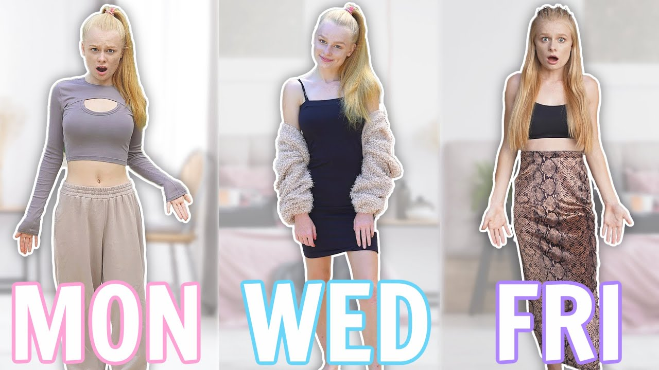 Wearing my MUM'S CLOTHES for a WEEK!