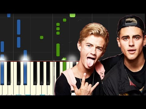 """Jonas Blue ft Jack Jack - """"Rise"""" Piano Tutorial - Chords - How To Play - Cover"""