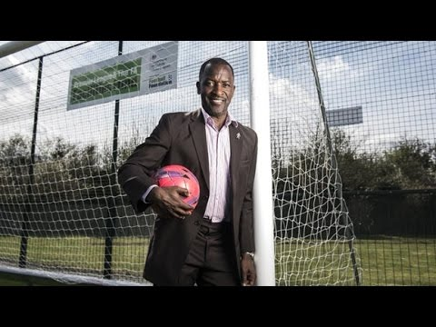 Football star Chris Powell opens Ealing school's outstanding new 3G pitch
