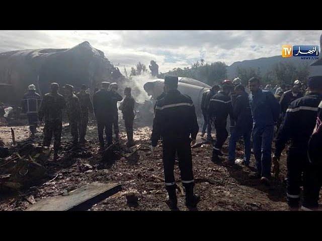 257 people dead in Algerian plane crash.