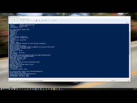 Docker on Windows 10 Pro - vmicroservices
