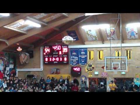Micro Blimp Manouvers Luther High School LIT tournament
