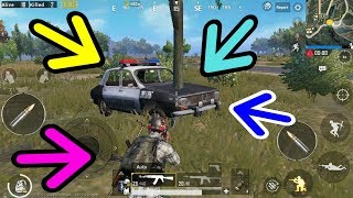 Car Accident With Tree Joined Pubg Mobile