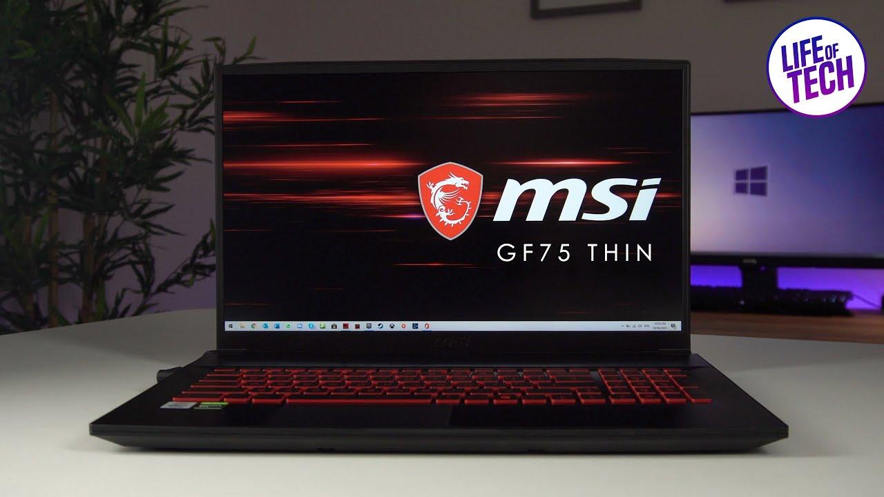 MSI GF75 Thin 10SDR Gaming Laptop Review | MSI Budget Gaming Laptop