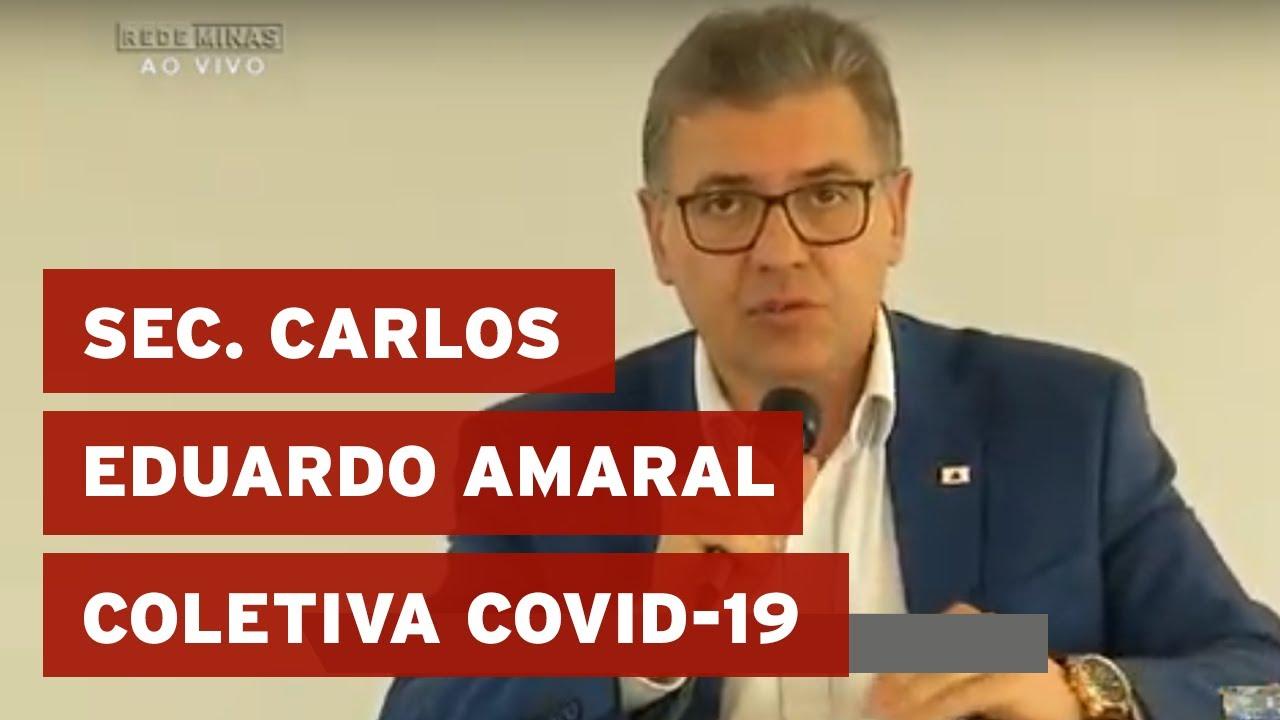 Coletiva do Governo de Minas sobre a COVID-19 – 06/04/20