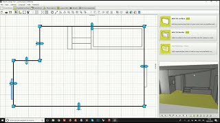 Draw any shape of the room in 2D and 3D in Tilelook