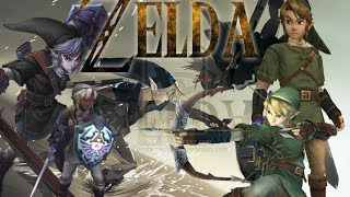The Legend Of Zelda: All Dark Link Boss Battles - 1,000 Subscriber Special!