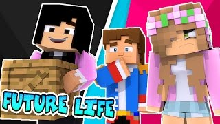 DONNYS EX GIRLFRIEND MOVES INTO THE KINGDOM! Minecraft Future Life w/LittleKelly