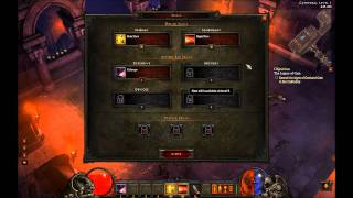 Diablo 3 Beta PATCH 13 - UI, Runestones, and Demon Hunter skills Part 2