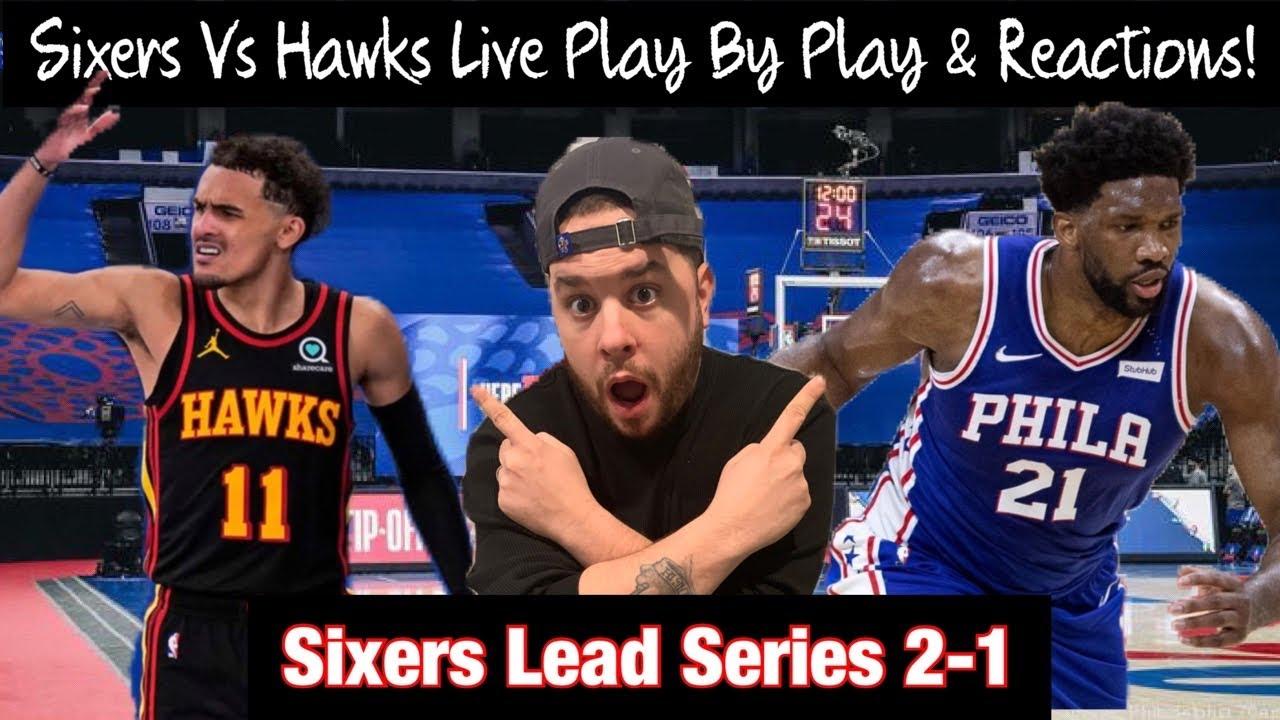 76ers vs. Hawks score: Live updates as Joel Embiid, Philadelphia ...