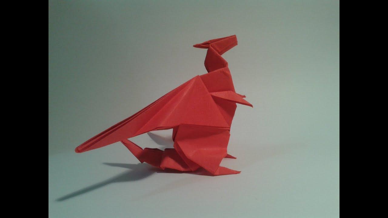 Origami how to make a dragon gilad aharoni youtube jeuxipadfo Image collections