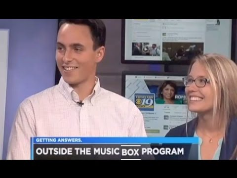 Big NEWS...Outside the Music Box on the NEWS