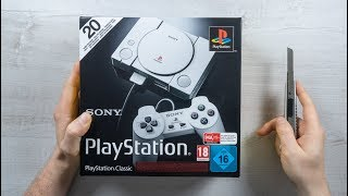 Sony PlayStation CLASSIC CONSOLE - UNBOXING + Tekken 3 Gameplay