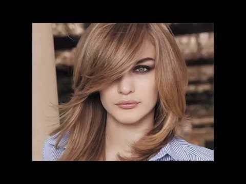 Medium hairstyles for heavy faces