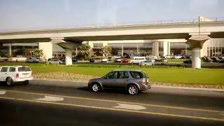 Drive Through Sheikh Zayed Road Dubai