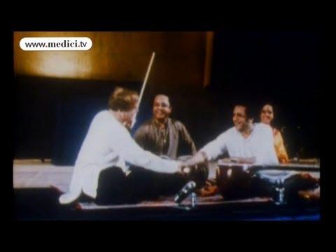 Ravi Shankar plays with Yehudi Menuhin
