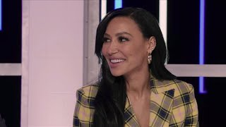 "Naya rivera's last tv appearance as a guest judge on the baking show ""sugar rush,"" has been released netflix. ""i have 4 year old son, so you are kind of..."