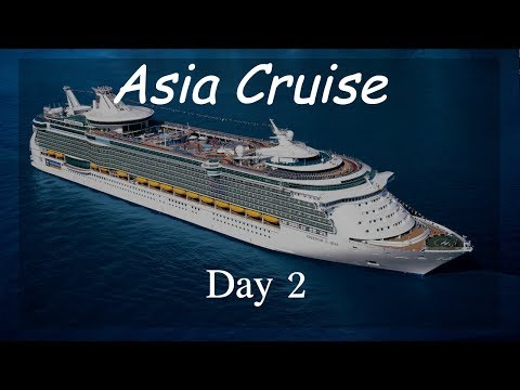 Asia Cruise Day 2 Vlog | Met an amazing Asian friend!!