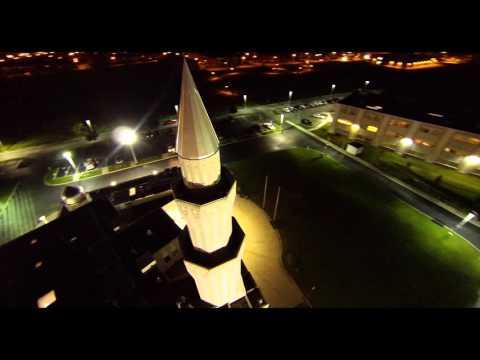 Baitul Islam Mosque In Toronto, ON Aerial