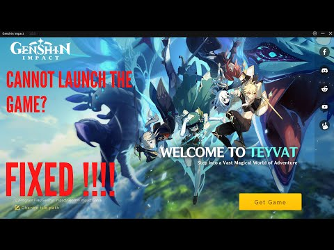 Genshin Impact Wont Launch Problem Fixed 4 Solutions Fixes For Windows 10 How To Fix Launcher Youtube