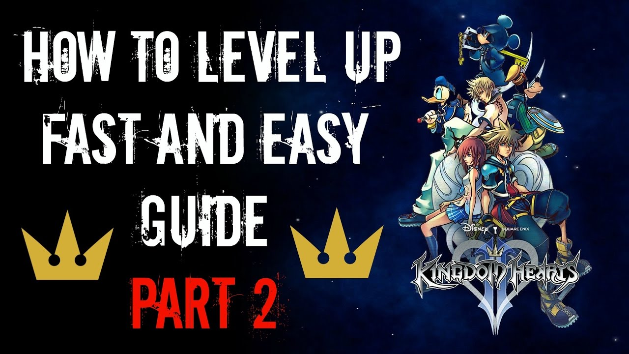 Kingdom Hearts HD 2.5 ReMIX - How To Level Up Fast And Easy Guide ...