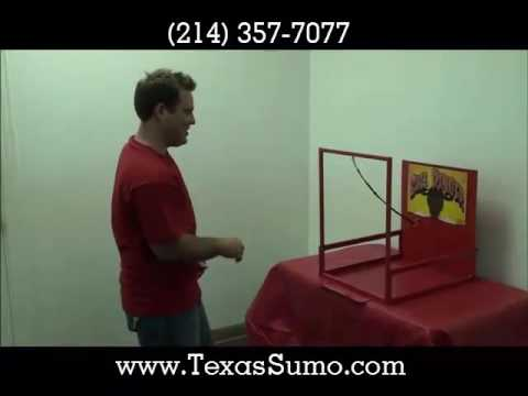 Bullringer Carnival Game Rental - Dallas, TX