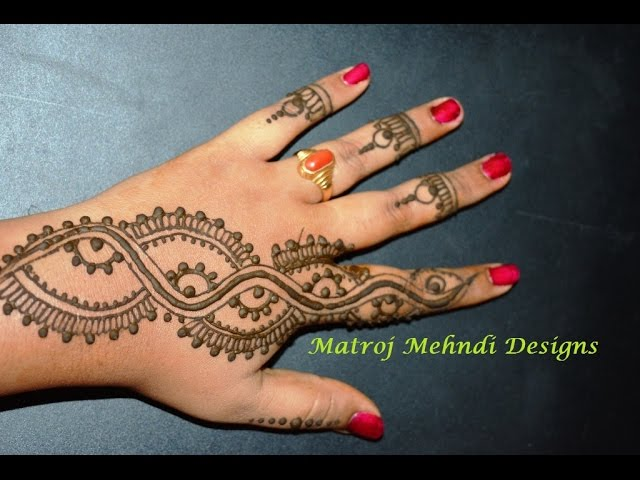 Easy Mehndi Designs 6 Simple And Trendy Mehndi Designs That You Can
