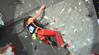 IFSC World Cup Puurs 2015 - Lead - Finals - Mina Markovic
