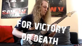 Amon Amarth - For Victory or Death (HQ Guitar Cover)