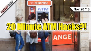 20 Minute ATM Hacks, Google Fi Adds A VPN! - ThreatWire