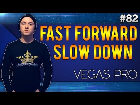Sony Vegas Pro 13: Slow Motion - Tutorial #5.