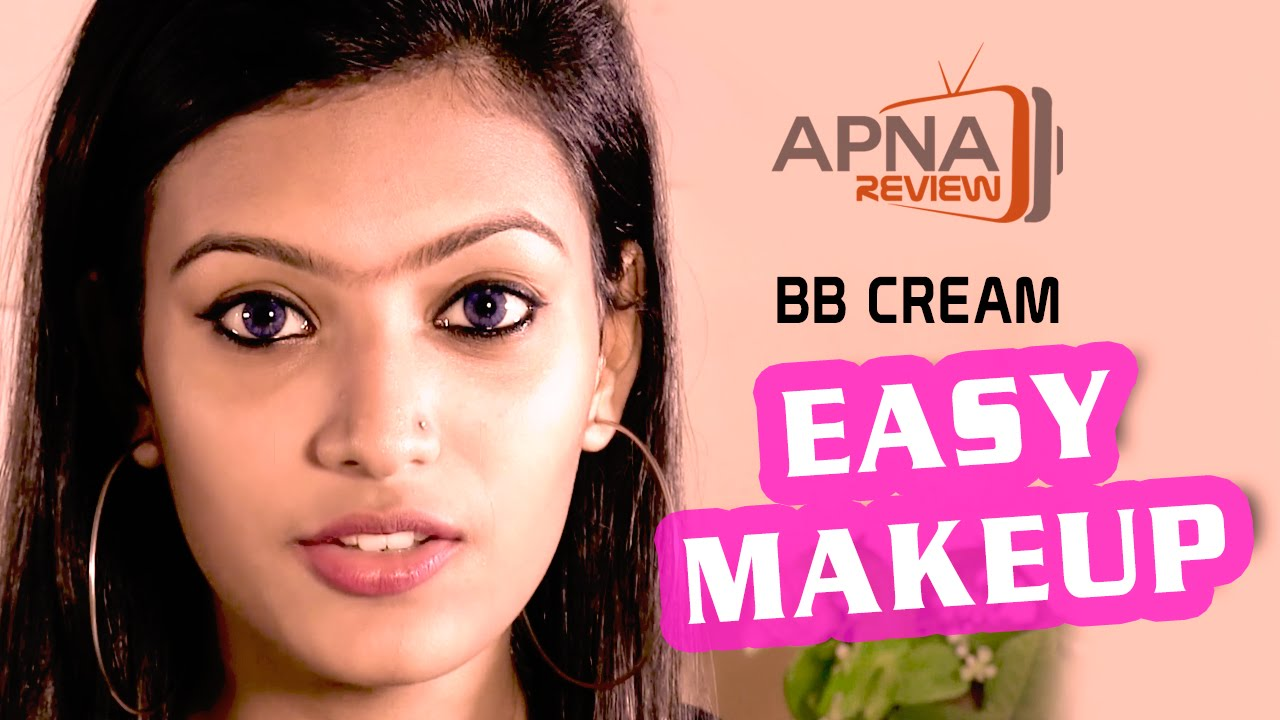 Easy Makeup with BB Cream - YouTube