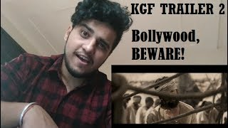 KGF Trailer 2 REACTION REVIEW | Hindi | Yash | Srinidhi | 21st Dec 2018
