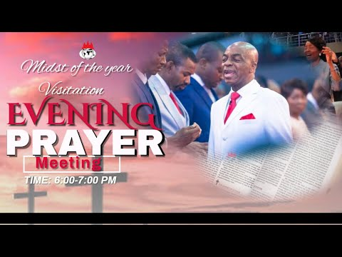 DOMI STREAM:MIDST OF THE YEAR VISITATION  PRAYER MEETING   | 12TH JUNE , 2020