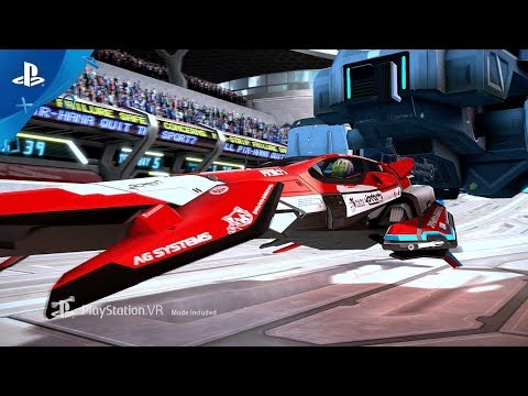 WipEout Omega Collection - PSX 2017: Announce Trailer | PS4, PS VR