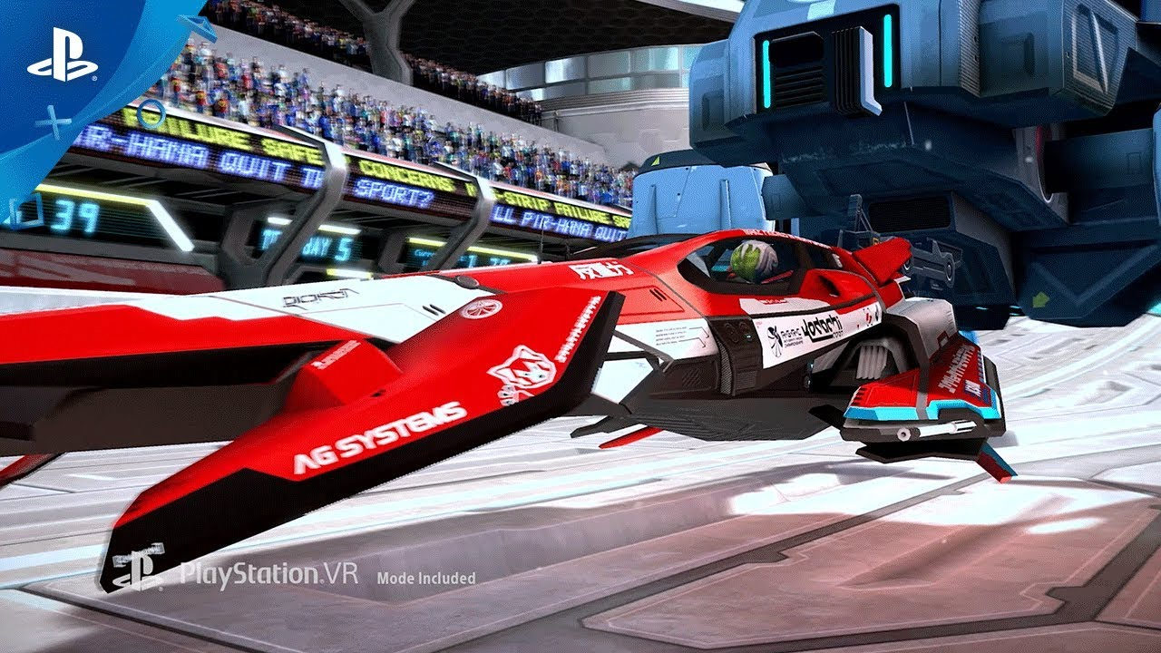 Wipeout Omega Collection Psx 2017 Announce Trailer Ps4 Ps Vr