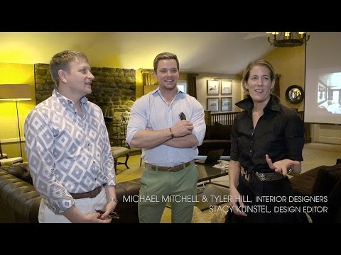 Day Of Design 2016 Interior Designers Michael Mitchell Tyler Hill With Editor Stacy Kunstel