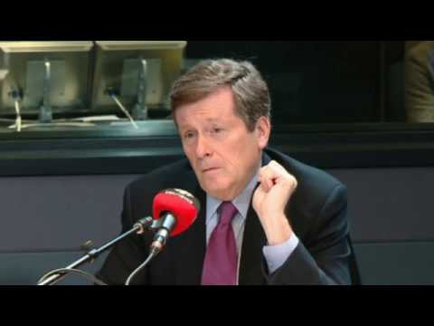 Interview #1 John Tory on Toronto Violence - June 9, 2016