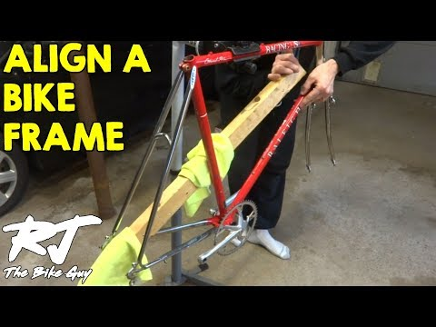 Check And Align A Bike Frame