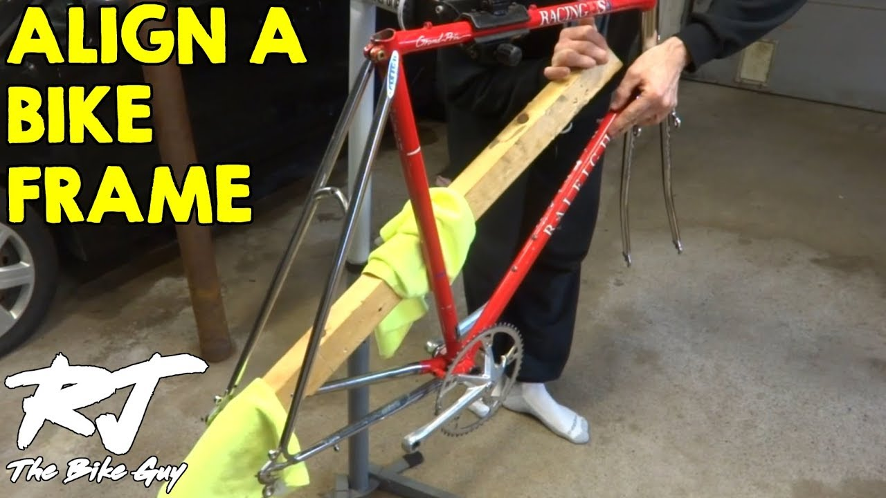 check and align a bike frame youtube