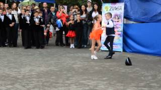 Ча ча ча танец дети 7 лет. Фестиваль спорта в Одессе.