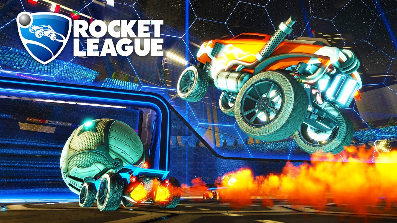 Rocket League - EPIC MULTIPLAYER GAMEPLAY! (Rocket League ...
